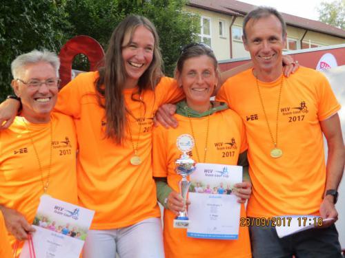 3WLV-Team Wertung ,Platz 1 Mannschaft mix ü40